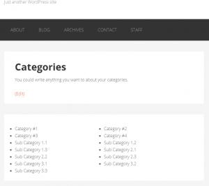 Custom Taxonomy List Page