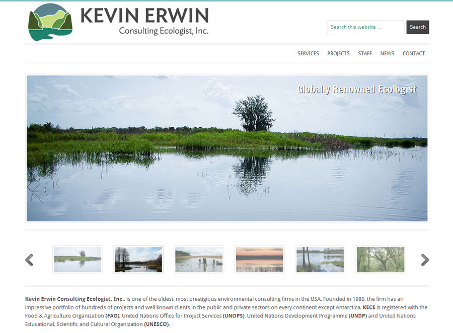 Kevin Erwin, Consulting Ecologist